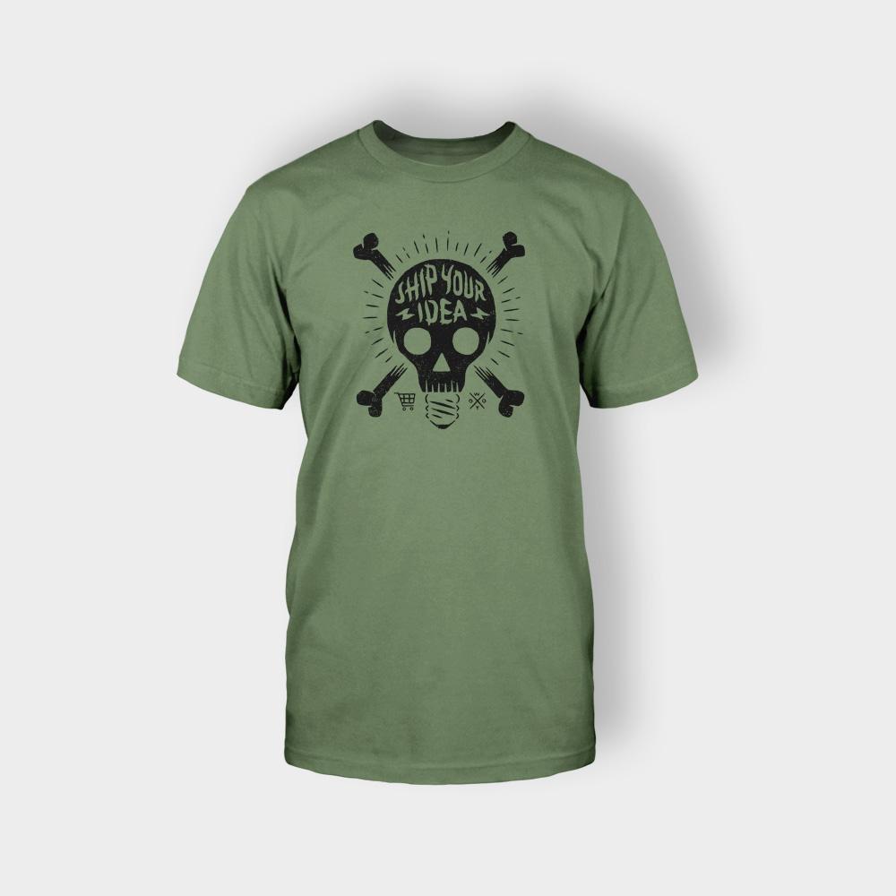 Green Male T-Shirt